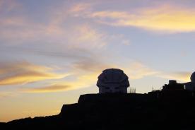Liverpool Telescope at Dawn