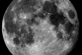The Moon, taken by the Liverpool Telescope.