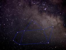 """Asterism known as the """"Little Teapot"""""""