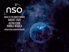 The Bubble Nebula by Astro Eddie
