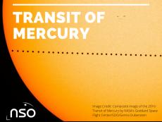 Transit of Mercury 2016 by NASA