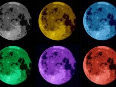 Stylised Moons