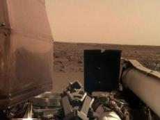 InSight takes a selfie on Mars